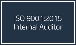 ISO 9001 2015 Internal Auditor